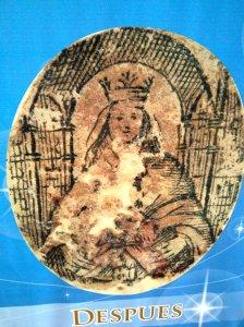 Santa Reliquia de Origen Divino entregada en la mano al Cacique Coromoto por la Santísima Virgen María el 08 de Septiembre de 1652